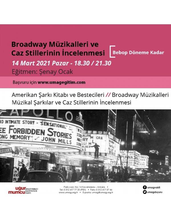 Broadway Müzikalleri Ve Caz Stillerinin İncelenmesi