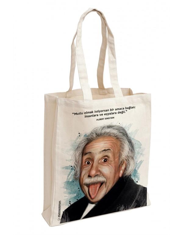 Albert Einstein Bez Çanta