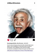 Albert Einstein Bookstagram Defter