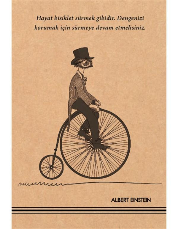 Albert Einstein Kraft Defter