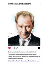 Atatürk 1 Bookstagram Defter
