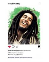 Bob Marley Bookstagram Defter