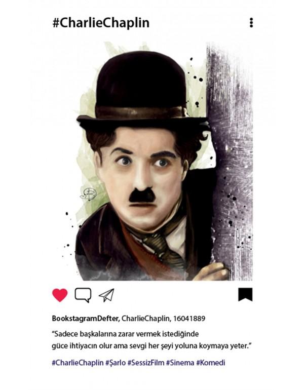 Charlie Chaplin Bookstagram Defter