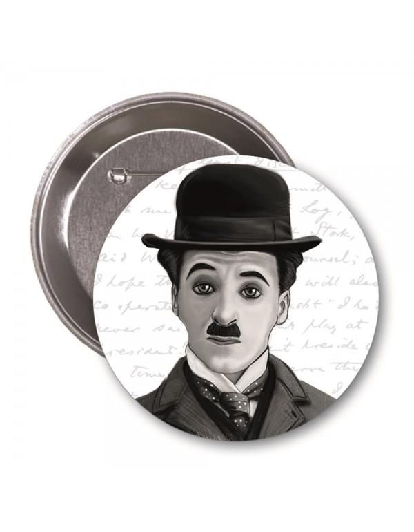 Charlie Chaplin  Karikatür Rozet