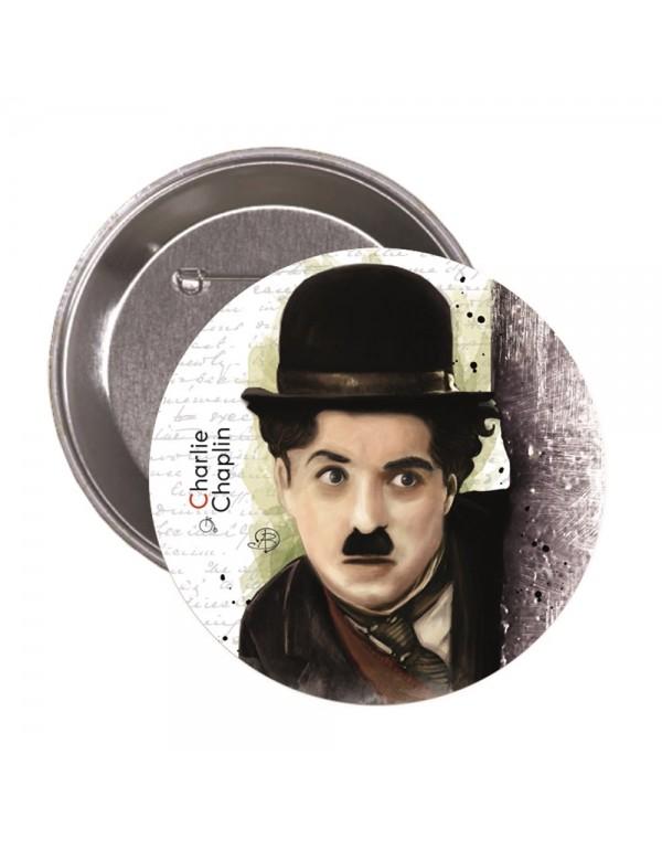 Charlie Chaplin Rozet