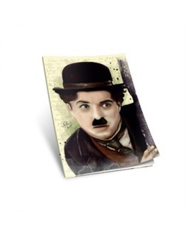 Charlie Chaplin Yumuşak Kapaklı Defter