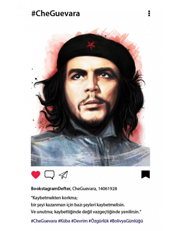 Che Guevara Bookstagram Defter