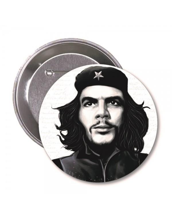 Che Guevara Karikatür Rozet