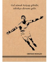 Cristiano Ronaldo Kraft Defter
