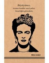 Frida Kahlo 1  Kraft Defter