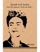 Frida Kahlo 2 Kraft Defter