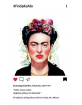 Frida Kahlo  Bookstagram Defter