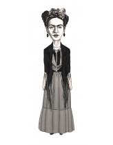Frida Kahlo Karikatür AyraçAyraç