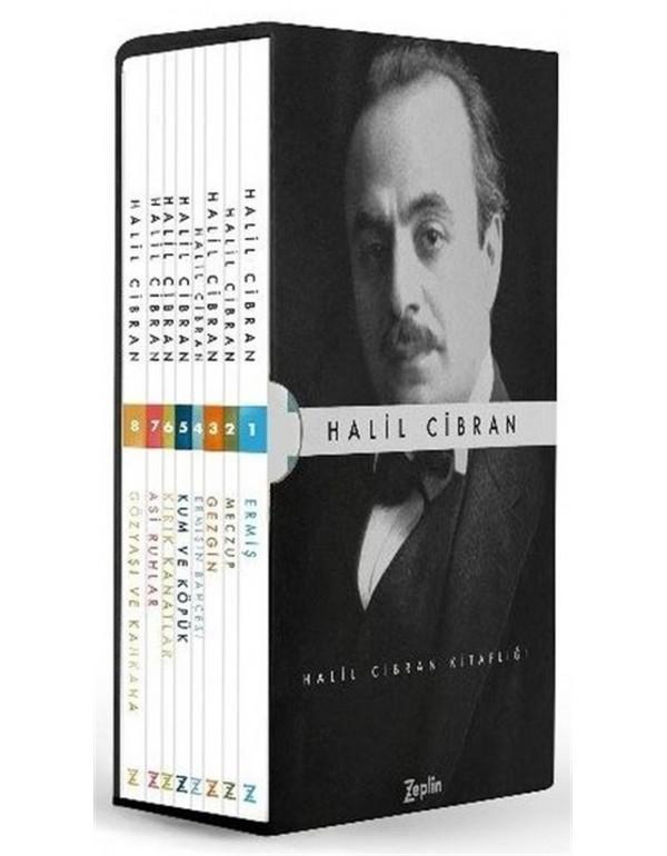 Halil Cibran Seti - 8 Kitap Takım Kutulu