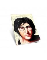 John Lennon Yumuşak Kapaklı Defter