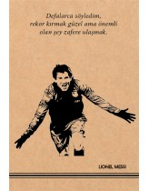 Lionel Messi Kraft Defter