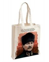 Mustafa Kemal Atatürk Bez Çanta 2