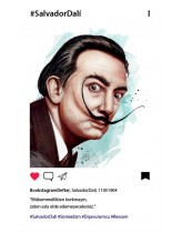 Salvador Dali Bookstagram Defter
