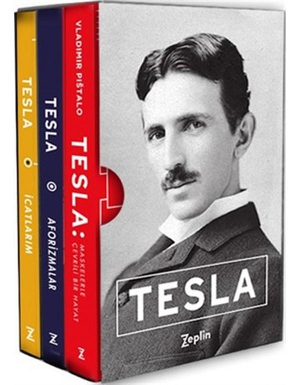 Tesla Seti Kutulu-3 Kitap Takım