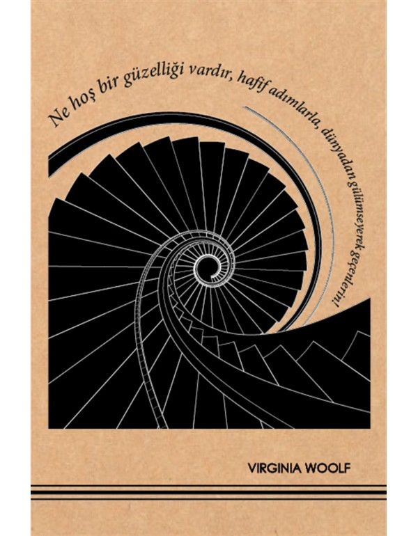 Virginia Woolf Kraft Defter