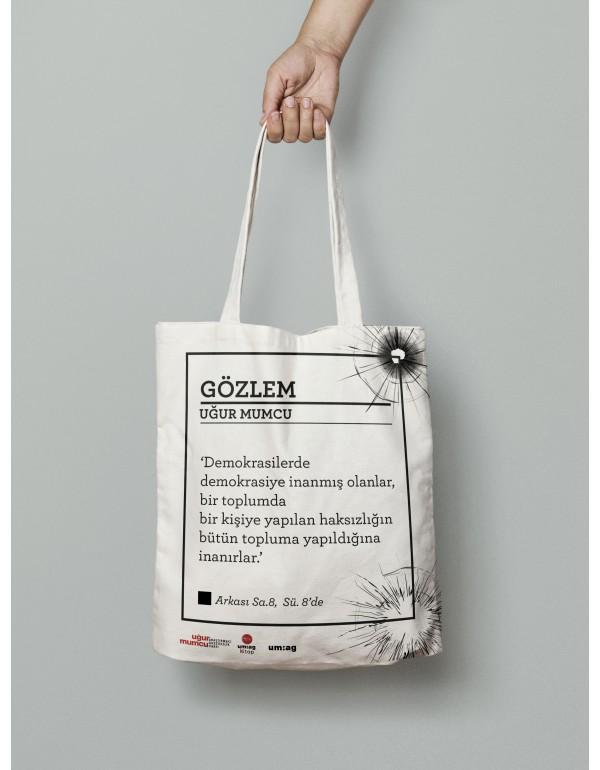 Gözlem Bez Çanta